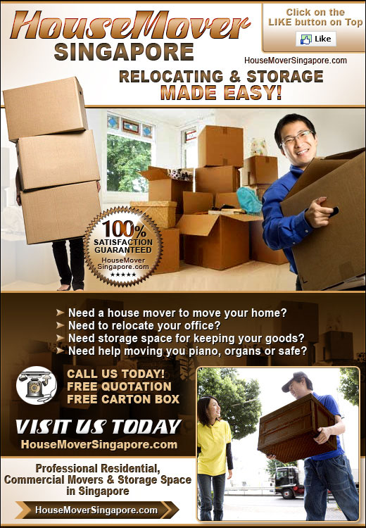 Moving services in Singapore. We are the professional house moving specialist since 1998